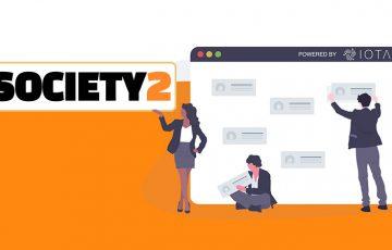 IOTA活用の分散型SNSフレームワーク「Society2」ウェブサイト公開