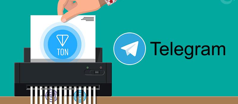 Telegram-TON-Gram-Discontinuation