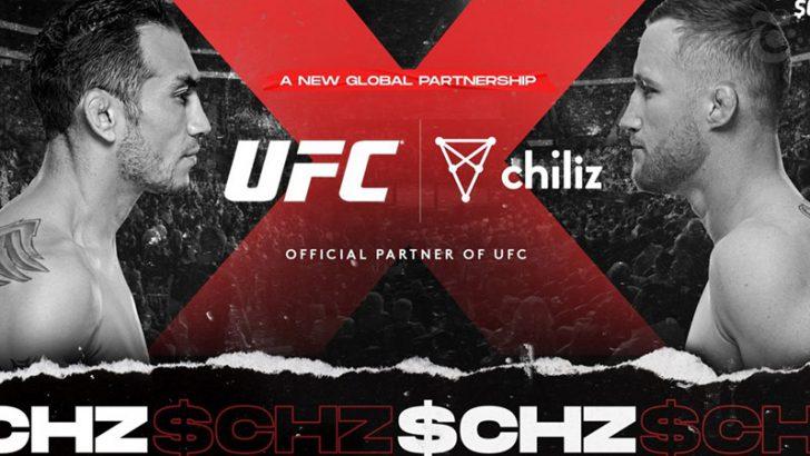 チリーズ(Chiliz/CHZ)総合格闘技団体「UFC」とグローバル提携