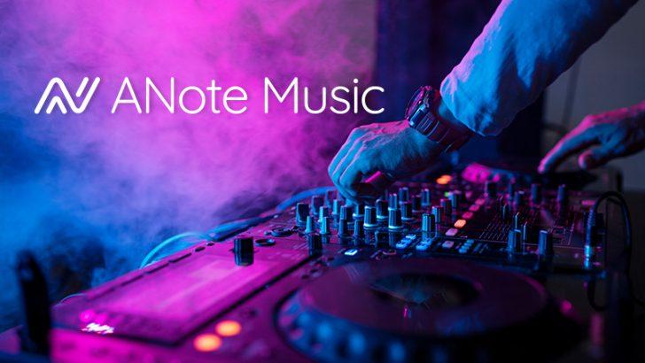 音楽の「権利」に投資するブロックチェーンプラットフォーム公開へ:ANote Music