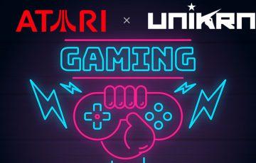 Atari:eスポーツ関連企業「Unikrn」と提携|独自暗号資産をエコシステムに追加