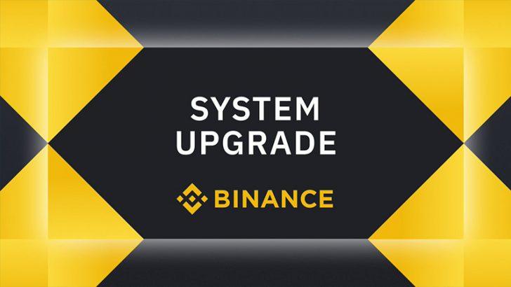 BINANCE:暗号資産取引システムで「過去最大級のアップグレード」を完了