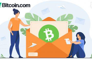 ビットコインキャッシュを「Eメールアドレス宛て」に簡単送金|Bitcoin.comが新サービス