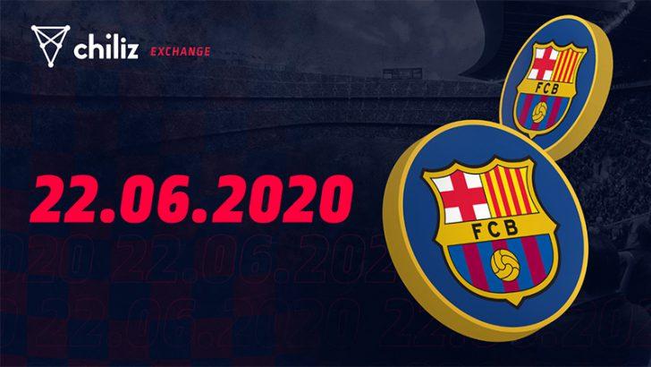 【Chiliz】FCバルセロナの公式ファントークン「BAR」の販売・取引開始日が判明