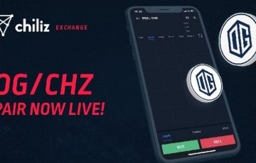 Chiliz Exchange:eスポーツチーム「OG」の公式ファントークン取扱い開始