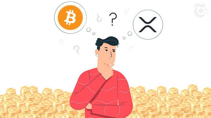 暗号資産投資家、XRPから「ビットコイン」へと移行か|GMOコインの取引金額に変化