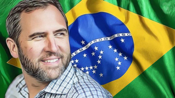 Ripple社CEO「ブラジル中央銀行総裁」と非公開会議