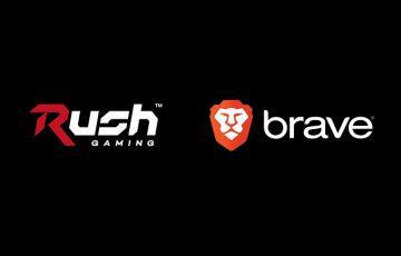 【日本初】Brave:国内eスポーツチーム「Rush Gaming」とパートナー契約を締結