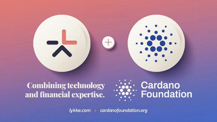 カルダノ財団:スイスのフィンテック企業「Lykke Corp」と提携へ
