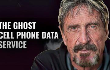 ジョン・マカフィー:プライバシー重視の「携帯電話データ通信サービス」を発表