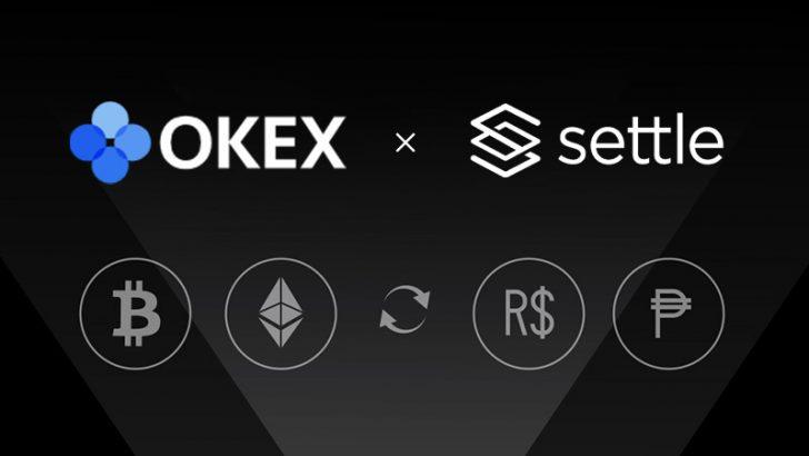 暗号資産取引所OKEx「Settle Network」と提携|新たに3つの法定通貨をサポート