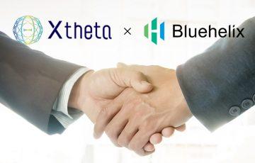 暗号資産取次サービスのXtheta「Bluehelixグループ」と業務提携