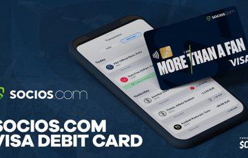 【Chiliz】ファンに特典・報酬を付与する「Socios.com VISAデビットカード」発行へ