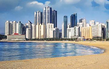 韓国釜山で人気の海水浴場「海雲台ビーチ」で仮想通貨決済が可能に