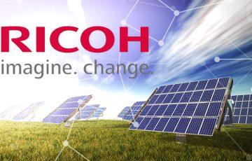 RICOH:ブロックチェーン用いた「再生可能エネルギー管理」の実証実験開始