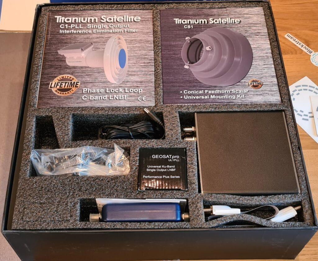Blockstream Satellite Pro Kit Box(画像:BitMEX)