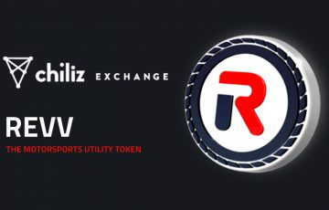 Chiliz Exchange:モータースポーツゲームのメイントークン「REVV」取扱い開始