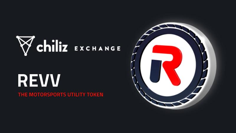 モータースポーツゲームのメイントークン「REVV」取扱い開始:Chiliz Exchange