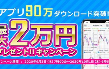 DMMビットコイン「最大2万円プレゼント!アプリ90万DL突破!キャンペーン」開催へ