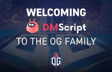 eスポーツチームOG:ブロックチェーン企業「DMScript(DMST)」と提携