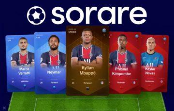ファンタジーサッカーゲームSorare「パリ・サンジェルマンFC」とライセンス契約