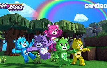 The Sandbox:人気のキャラクターブランド「Care Bears(ケアベア)」と提携