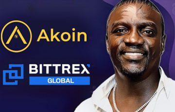 著名歌手AKONの仮想通貨Akoin:暗号資産取引所「Bittrex Global」上場へ
