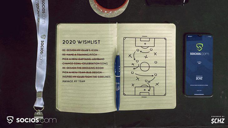 アポロンFC:Sociosアプリのファン投票で「フォーメーション・選手配置」決定へ