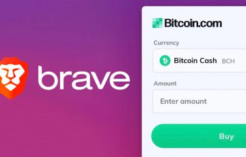 Braveブラウザ「Bitcoin.comのウィジェット」を追加|BCHなどが購入可能に