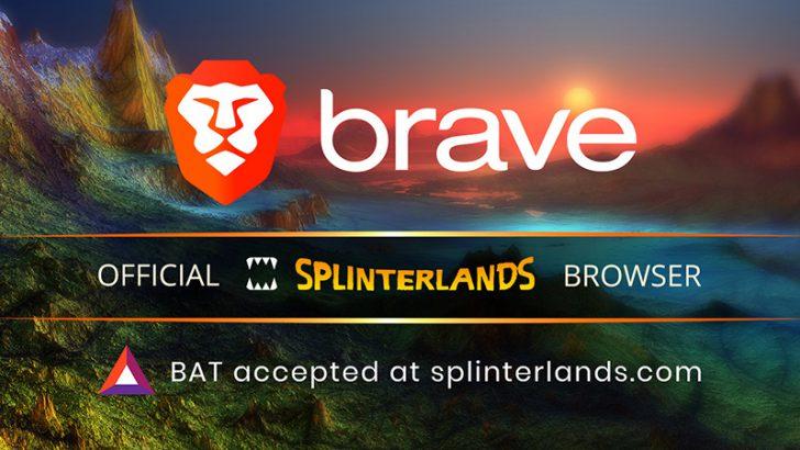 Brave:ブロックチェーンカードゲーム「Splinterlands」と提携