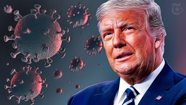 トランプ大統領:新型コロナウイルス「陽性反応」ビットコイン・ドル円などが急落