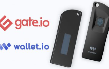 指紋認証機能付きハードウェアウォレット「Wallet S1」公開:暗号資産取引所Gate.io