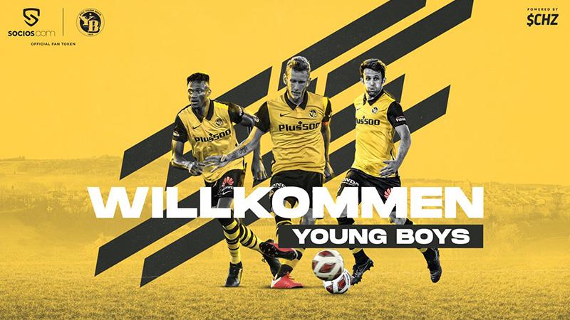 スイスのサッカークラブ「BSC Young Boys」の公式ファントークン発行へ:Socios.com
