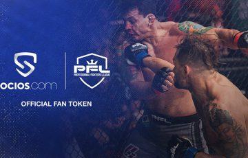 総合格闘技団体PFL「Socios.com」で公式ファントークン発行へ|投票イベントなどを開催