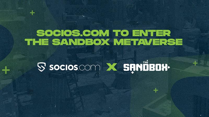 The Sandboxで「スポーツ&エンタメ空間」構築へ|大型地所を購入