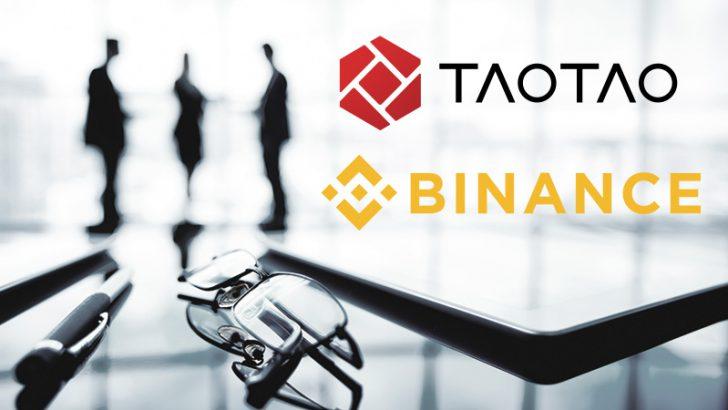 TaoTao株式会社:BINANCEとの「提携交渉終了」を発表