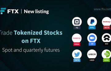 暗号資産取引所FTX:Zoom・Uber・Squareなど「株式トークン9銘柄」を追加