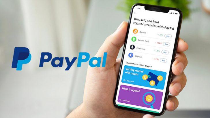 PayPal:米国で「暗号資産4銘柄の売買・保管サービス」提供開始