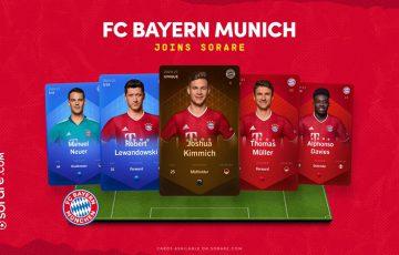 【Sorare】ドイツのサッカークラブ「FCバイエルン・ミュンヘン」が新規加入