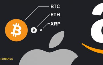 BINANCE:暗号資産3銘柄を「Apple・Amazon・Google」と比較|残された成長の可能性