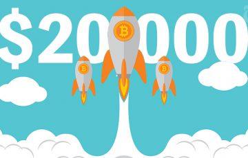 ビットコイン価格:海外取引所の過去最高値ライン「2万ドル」を突破