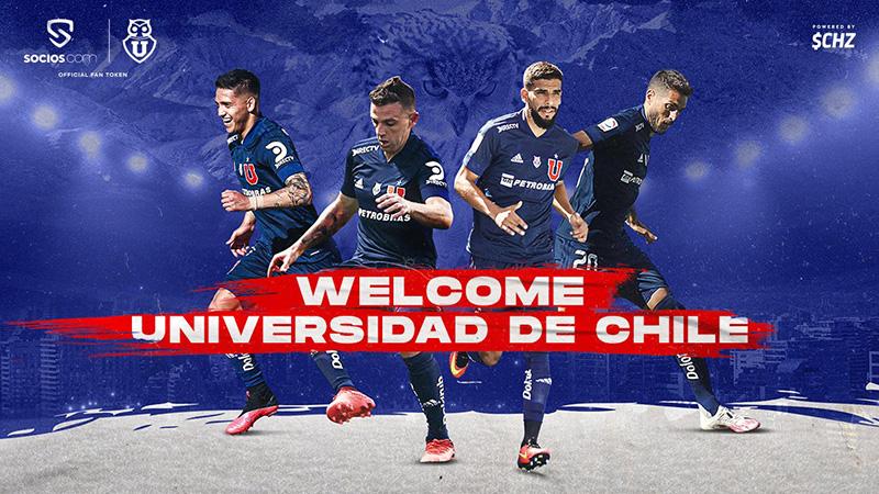 チリ初!Universidad de Chileの$UCHファントークン発行発表