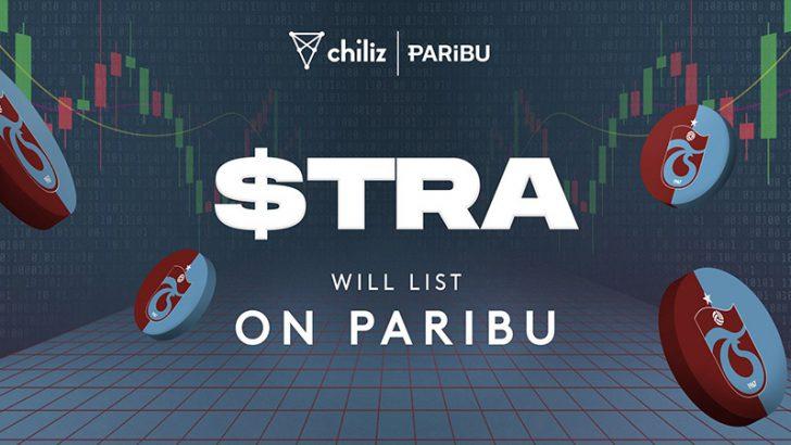 【Chiliz】TrabzonsporのTRAファントークン、暗号資産取引所「PARIBU」上場へ