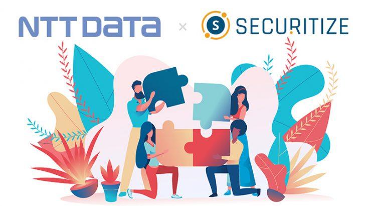 日本市場向けセキュリティトークン基盤実現に向け「NTTデータ」と協業:Securitize