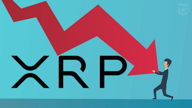 XRP価格:再び「50円台」まで下落|スナップショット前後の急落に要注意