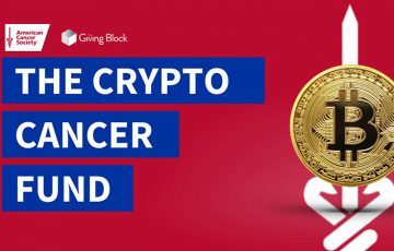 アメリカがん協会:暗号資産で寄付募る「Cancer Crypto Fund」設立|合計8銘柄受け入れ