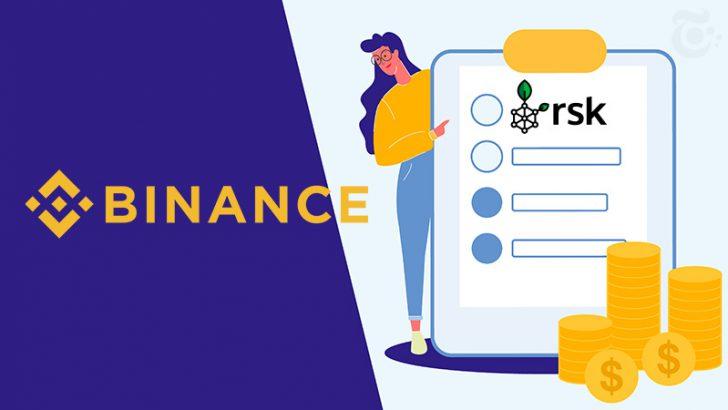 ビットコインのサイドチェーンプロジェクト「RSK(RIF)」がバイナンスに上場|数百万ユーザーがビットコインに基づくDeFiエコシステムへアクセス可能に