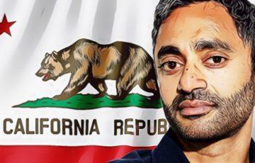 ビットコイン支持派Chamath Palihapitiya氏「カリフォルニア州知事」に立候補する考え