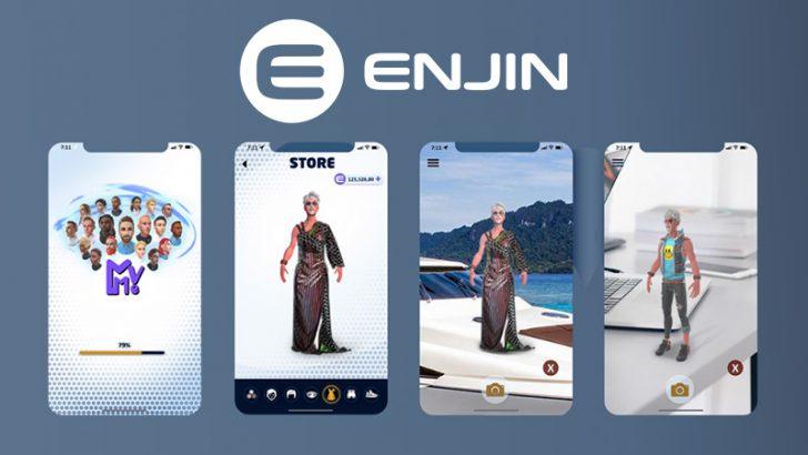 Enjin:ARプラットフォーム「MetaverseMe」と提携|ファッションNFTを拡張現実世界に