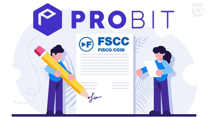 Zaif取扱いのフィスココイン(FSCC)韓国4位の取引所「ProBit」上場へ